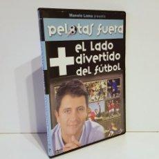 Coleccionismo deportivo: EL LADO + DIVERTIDO DEL FÚTBOL - 1 DVD SLIM. Lote 121186751