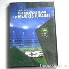 Coleccionismo deportivo: DVD LIGA DE CAMPEONES 2009 2010 LAS MEJORES JUGADAS FÚTBOL DEPORTE - HEINEKEN UEFA CHAMPIONS LEAGUE. Lote 156953318