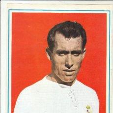 Coleccionismo deportivo: LAMINA DEPORTIVA. COLECCIÓN HISTORIA DE LA COPA 1970.PAHIÑO.REAL MADRID.. Lote 121989551