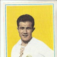 Coleccionismo deportivo: LAMINA DEPORTIVA. COLECCIÓN HISTORIA DE LA COPA 1970.QUINCOCES.REAL MADRID.. Lote 122009807