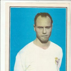 Coleccionismo deportivo: LAMINA DEPORTIVA. COLECCIÓN HISTORIA DE LA COPA 1970.NAVARRO.REAL MADRID.. Lote 122010803