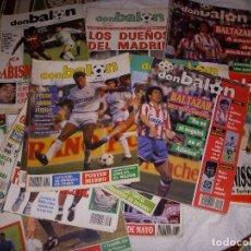 Coleccionismo deportivo: REVISTAS DON BALON 1985-2000. Lote 122064011