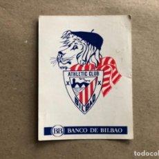 Coleccionismo deportivo: ATHLETIC CLUB - TARJETA PROMOCIONAL DEL BANCO DE BILBAO CON EL HIMNO DEL ATHLETIC CLUB.. Lote 122124323