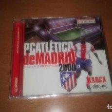 Coleccionismo deportivo: PC ATLETICO DE MADRID 2000 . Lote 122149955