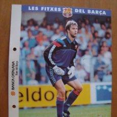 Coleccionismo deportivo: LES FITXES DEL BARCA ; LOPETEGI. Lote 151814082