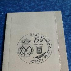 Coleccionismo deportivo: REAL MADRID. Lote 122468846