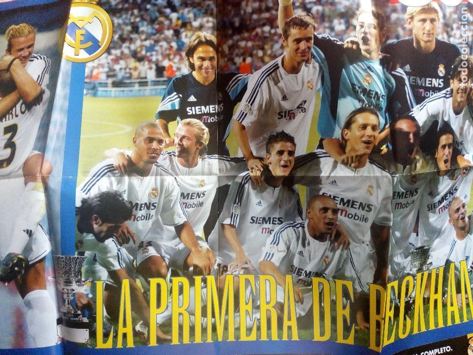 Coleccionismo deportivo: Lote variado real madrid. Futbol.la liga.at madrid.marca.as.7 champions.buyo. - Foto 2 - 122538067