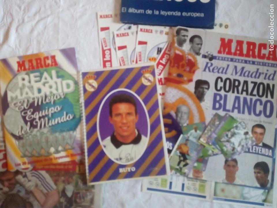 Coleccionismo deportivo: Lote variado real madrid. Futbol.la liga.at madrid.marca.as.7 champions.buyo. - Foto 4 - 122538067