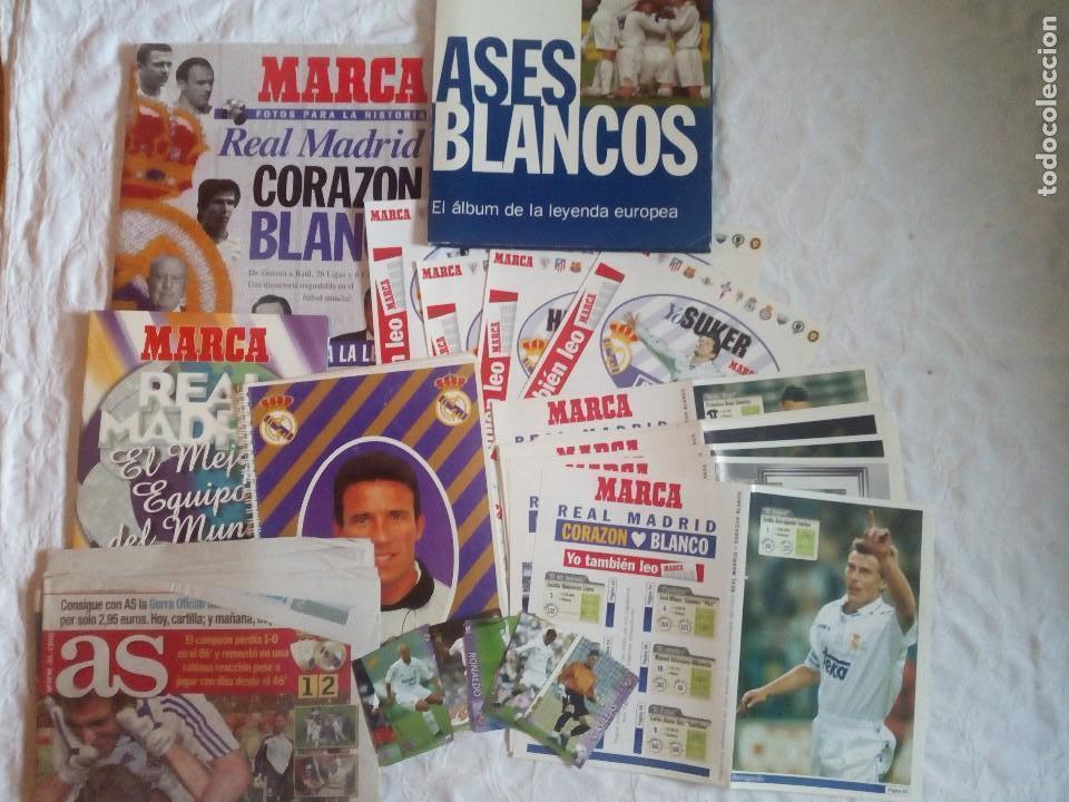 LOTE VARIADO REAL MADRID. FUTBOL.LA LIGA.AT MADRID.MARCA.AS.7 CHAMPIONS.BUYO. (Coleccionismo Deportivo - Documentos de Deportes - Otros)