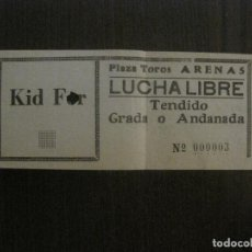 Coleccionismo deportivo: ENTRADA LUCHA LIBRE - BARCELONA -VER FOTOS-(V-14.717). Lote 122790915