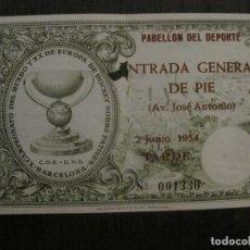 Coleccionismo deportivo: X CAMPEONATO MUNDO HOCKEY PATINES -BARCELONA- JUNIO 1954 -VER FOTOS-(V-14.724). Lote 122792487