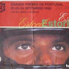 Coleccionismo deportivo: ENTRADA DEPORTIVA COCHES DE FÓRMULA 1 AÑO 1995. Lote 124182751