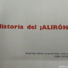 Coleccionismo deportivo: HISTORIA DEL ¡ ALIRON ! ATHLETIC CLUB DE BILBAO 1958 FOTOGRAFIAS ATLETICO PICHICHI FUTBOL PAIS VASCO. Lote 126478192