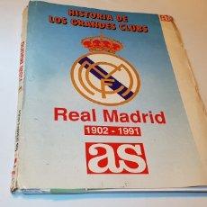 Coleccionismo deportivo: REAL MADRID HISTORIA GRANDES CLUBES 1902-1991. Lote 127013115