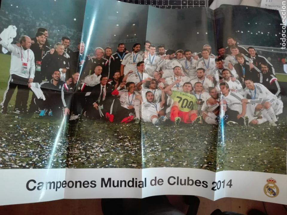 POSTER REAL MADRID 2014 CAMPEONES MUNDIAL DE CLUBES (Coleccionismo Deportivo - Documentos de Deportes - Otros)