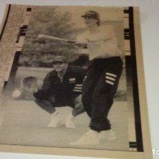 Coleccionismo deportivo: C-B15FG IMPRESIONANTE LOTE DE RECORTES DE PRENSA AGENCIA EFE + UNA FOTO ATHLETIC CLUB BILBAO. Lote 127519939