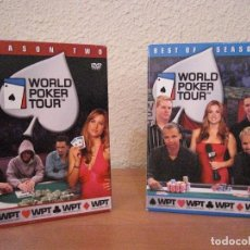 Coleccionismo deportivo: WORLD POKER TOUR - 2 Y 3 TEMPORADA -12 DVDS. Lote 127559343
