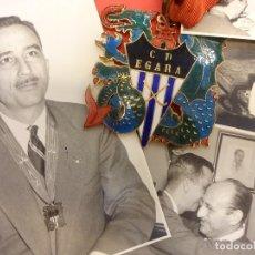 Coleccionismo deportivo: CD. EGARA. TARRASA. INTERESANTE LOTE DE FOTOS Y DOCUMENTOS. HOCKEY SOBRE HIERBA. ORIGINAL AÑOS 1950S. Lote 128359799