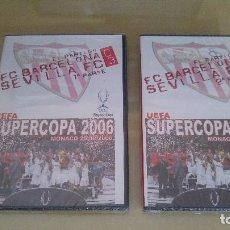 Coleccionismo deportivo - 2 DVDs BARCELONA 0 SEVILLA FC 3 (FINAL SUPERCOPA DE EUROPA 2006) - SIN ESTRENAR - PRECINTADO - 128810011