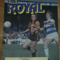 Coleccionismo deportivo: THE ROYAL. READING – MILLWALL. PROGRAMA 1982.. Lote 130477782