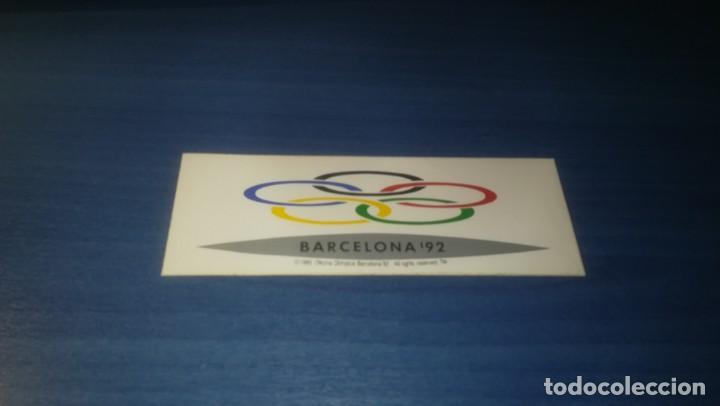 Adhesivo Barcelona 92 Juegos Olimpicos Candida Comprar En