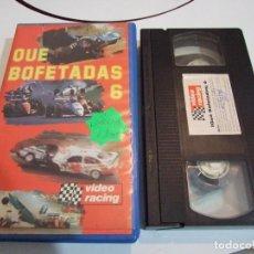Coleccionismo deportivo: QUE BOFETADAS 6 - VHS - VIDEO RACING 1989. Lote 131633190