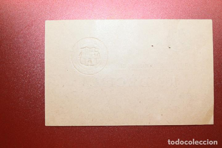 Coleccionismo deportivo: CÈDULA DE COOPERACIÓ F.C.BARCELONA, GENER, ENERO, 1931 - Foto 2 - 131904094