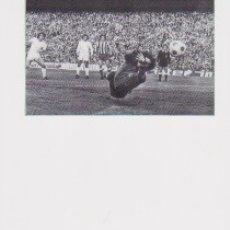 Coleccionismo deportivo: REAL MADRID: RECORTE DE MIGUEL ÁNGEL EN ACCIÓN. PEDIDO MÍNIMO DE RECORTES: 5 UNIDADES. Lote 132150970