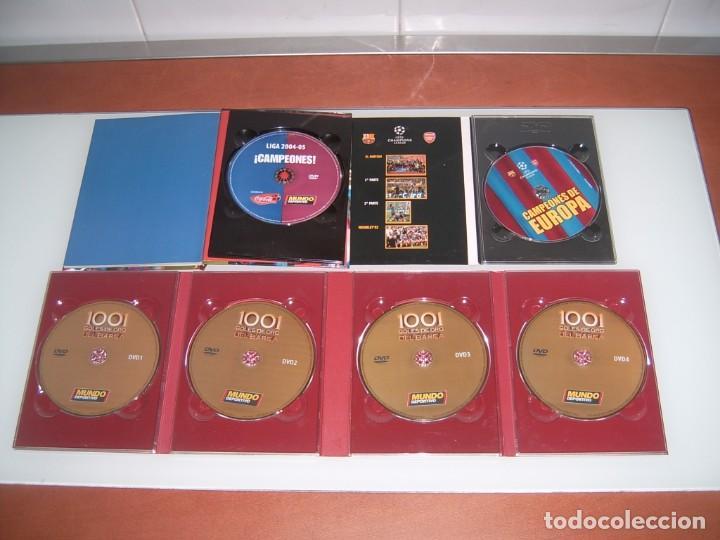Coleccionismo deportivo: LOTE DE 3 DVDS DEL BARSA - Foto 2 - 132577186