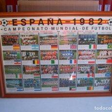 Coleccionismo deportivo: CUADRO MUNDIAL 82. Lote 133817538