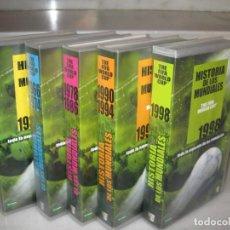 Coleccionismo deportivo: HISTORIA DE LOS MUNDIALES 1930-1998 EN CINTAS VHS. Lote 135234594