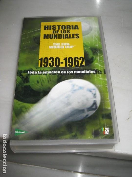 Coleccionismo deportivo: HISTORIA DE LOS MUNDIALES 1930-1998 EN CINTAS VHS - Foto 4 - 135234594