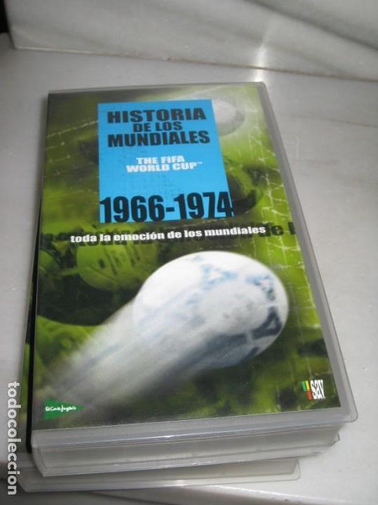 Coleccionismo deportivo: HISTORIA DE LOS MUNDIALES 1930-1998 EN CINTAS VHS - Foto 5 - 135234594