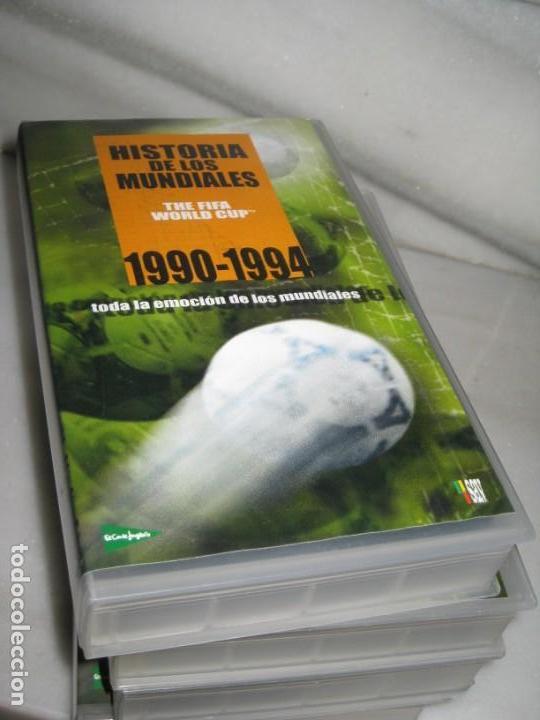 Coleccionismo deportivo: HISTORIA DE LOS MUNDIALES 1930-1998 EN CINTAS VHS - Foto 7 - 135234594