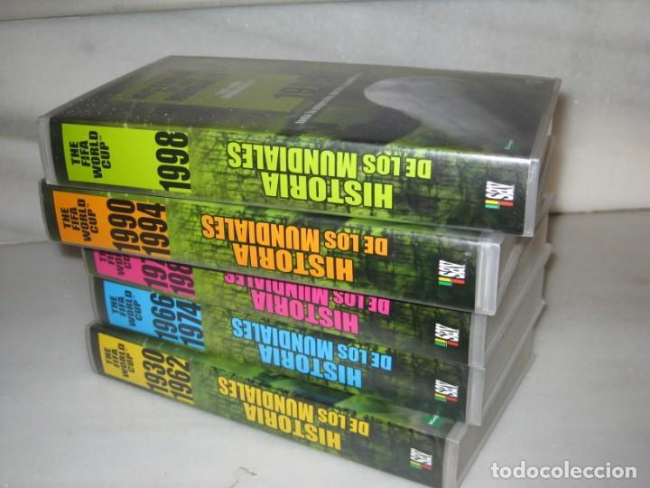Coleccionismo deportivo: HISTORIA DE LOS MUNDIALES 1930-1998 EN CINTAS VHS - Foto 9 - 135234594