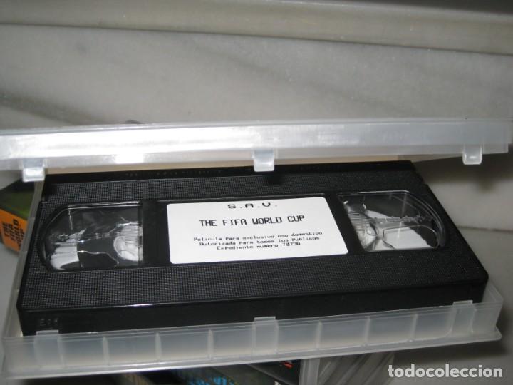 Coleccionismo deportivo: HISTORIA DE LOS MUNDIALES 1930-1998 EN CINTAS VHS - Foto 10 - 135234594