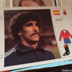 Coleccionismo deportivo: MUNDIAL 1982... SATRUS Y ZAMORA. Lote 135964167