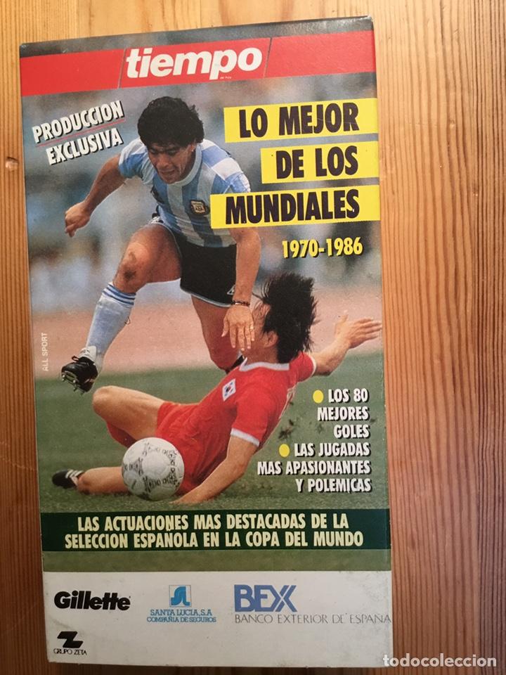 LO MEJOR DE LOS MUNDIALES, 1970-1986 (Coleccionismo Deportivo - Documentos de Deportes - Otros)