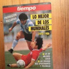 Coleccionismo deportivo: LO MEJOR DE LOS MUNDIALES, 1970-1986. Lote 136217209