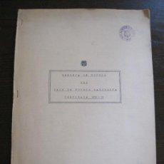 Coleccionismo deportivo: MEMORIA DE FUTBOL DEL FC BARCELONA TEMPORADA 1958 59 - VER FOTOS - (V-15.042). Lote 136413042