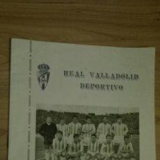 Coleccionismo deportivo: MEMORIA DEL REAL VALLADOLID DEPORTIVO TEMPORADA 1960-61 JULIO, 24 PÁGINAS. Lote 136759788