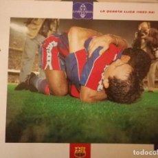 Coleccionismo deportivo: LAMINA - EL GRAN ALBUM DEL BARÇA FC BARCELONA Nº 59 - LA QUARTA LLIGA (1993-1994) STOICHKOV ROMARIO. Lote 136934390