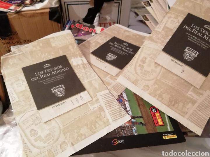 REAL MADRID COLECCIÓN- TESOROS . 100 LÁMINAS SUELTAS DIARIAS. COLECCION MARCA. HISTORIA BLANCA. (Coleccionismo Deportivo - Documentos de Deportes - Otros)