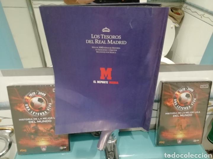 Coleccionismo deportivo: Real Madrid colección- TESOROS . 100 láminas sueltas DIARIAS. COLECCION Marca. HISTORIA BLANCA. - Foto 4 - 138076514