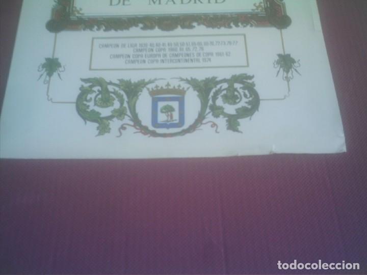 Coleccionismo deportivo: ATLETICO DE MADRID LAMINA AÑOS 70 SOMOS AQUI DEL ATLETICO DE MADRID - Foto 2 - 139468998
