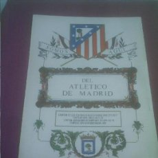 Coleccionismo deportivo: ATLETICO DE MADRID LAMINA AÑOS 70 SOMOS AQUI DEL ATLETICO DE MADRID . Lote 139468998