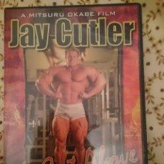 Coleccionismo deportivo: DVD CULTURISMO - JAY CUTLER - A CUTE ABOVE -EN INGLES. Lote 139680694