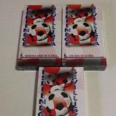 Coleccionismo deportivo: LOTE DE 3 VHS,ESPLENDOR SEVILLISTA-SEVILLA C.F.AÑO 1995 APROXIMADAMENTE.. Lote 139915236