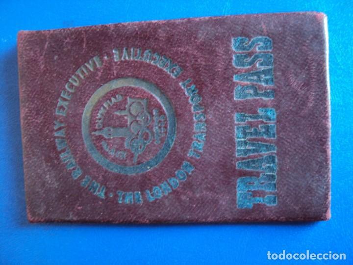 Coleccionismo deportivo: (F-181172)CARNET JUEGOS OLIMPICOS LONDRES 1948 DE ANDRES ZOLYOMY ENTRENADOR WATERPOLO ESPAÑA - Foto 2 - 140976522