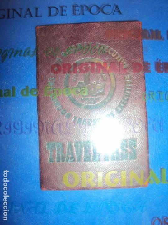 (F-181172)CARNET JUEGOS OLIMPICOS LONDRES 1948 DE ANDRES ZOLYOMY ENTRENADOR WATERPOLO ESPAÑA (Coleccionismo Deportivo - Documentos de Deportes - Otros)